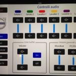 Sala riunioni - Controllo audio su iPad