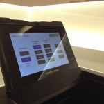 Sala riunioni - Touch screen da incasso ribaltabile